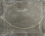 """1900-егг,Нх""""Кораблекрушение"""",фанера.масло,77*92см в раме, фото №12"""