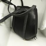 Вечерняя каркасная сумочка обтянутая шелком. Без ручек 16х7х18см, фото №6