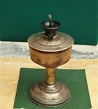 Старая киросинка 24 см , латунь, фото №4