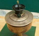 Старая киросинка 24 см , латунь, фото №5