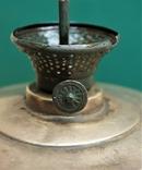Старая киросинка 24 см , латунь, фото №6