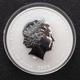 """1 долар 2008 р. Австралія """"Рік миші"""", фото №2"""