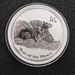 """1 долар 2008 р. Австралія """"Рік миші"""", фото №3"""