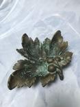 Пепельница Виноградный лист, фото №3