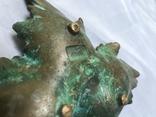 Пепельница Виноградный лист, фото №5