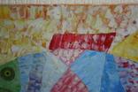 Картина рыба 50х30, фото №6