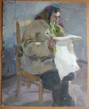 Л.Н.Кузьминков Этюд 1952 г., фото №2