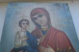 Икона Пресвятой Богородицы. Праворучица, фото №12