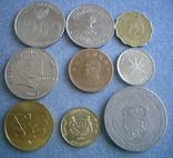 Монеты стран Азии, 9 монет, фото №2