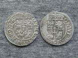 1/24 талера 1626-Z6 г. Георг Вильгельм. Пруссия ( 2 штуки )., фото №3