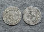 1/24 талера 1626-Z6 г. Георг Вильгельм. Пруссия ( 2 штуки )., фото №5