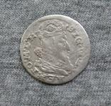 Литовский грош 1625 года. Сиг. ІІІ Ваза ( без обводки )., фото №2