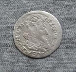 Литовский грош 1625 года. Сиг. ІІІ Ваза ( без обводки )., фото №3