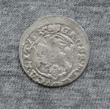 Литовский грош 1625 года. Сиг. ІІІ Ваза ( без обводки )., фото №4