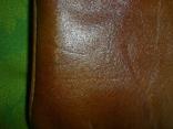 Клатч винтажный кожаный, фото №6