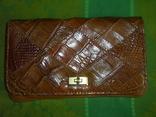 Клатч винтажный кожаный, фото №11