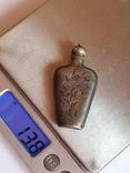 Флакон для духов. Серебро 875. СССР., фото №11