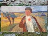 Соцреализм 1 Сентября 1960 е гг. Скосаренко Владимир Ильич 1927 г.р., фото №4
