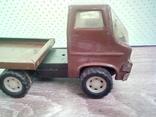 Игрушка, машинка грузовик с прицепом , СССР, фото №5