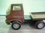 Игрушка, машинка грузовик с прицепом , СССР, фото №11