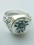 Копия: Эдельвейс перстень Вермахт печатка Рейх, фото №2