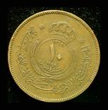 Королевство Иордания 10 филс 1949, фото №3