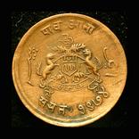 Британский Гвалор 1/4 анны 1913, фото №3