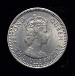 Британская Малайя 10 центов 1961, фото №3