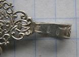 Крестик. Серебро 925 пр. Вес - 2,7 г., фото №5