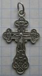 Крестик. Серебро 925 пр. Вес - 2,72 г., фото №3