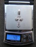Крестик. Серебро 925 пр. Вес - 4,87 г., фото №2