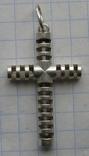 Крестик. Серебро 925 пр. Вес - 2,51 г., фото №3