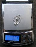 Кулон. Серебро 916 пр. Звезда. Вес - 3,09 г., фото №2