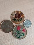 Настольные медали 4 шт, фото №2