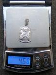Кулон. Серебро 925 пр. Вес - 4,68 г., фото №2