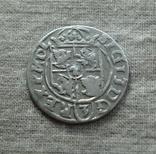 Полторак ( 1/24 талера ) 1617 года. Сиг. ІІІ Ваза ( бублики в буквах О )., фото №5