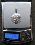Кулон. Серебро 925 пр. Вес - 2,42 г., фото №2