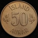 Ісландія 50 ейре 1974 року, фото №7