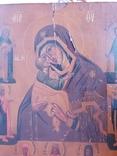 Икона Божией Матери Литография 19 века, фото №3