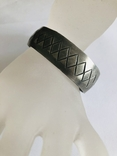 Браслет олово ручная работа маркирован Hand made Denmark старенький, фото №2