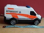 Микроавтобус -фургон Скорая помощь с тумблером, Dickie toys, фото №3