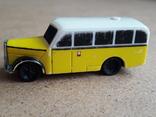 Винтажный автобус Скорая помощь , на батарейка, Migros Швейцария, фото №4
