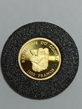 Монета республики Конго , 1500 франков 2004 год, фото №5