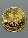 Того 1500 франков, 2005 год. 0.999, фото №5
