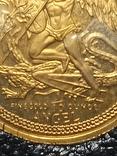 Монета Ангел , остров Мен, 1/10 OZ 9.999, 1986 год, фото №4