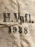 Брезентовая ткань со свастикой 1938 г., фото №3