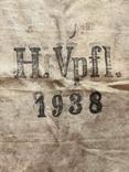 Брезентовая ткань со свастикой 1938 г., фото №9