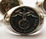 Перстень Вермахт кольцо рейх. Копия, фото №3