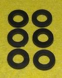 Уплотнительные резинки 6шт (для металлоискателей), фото №2