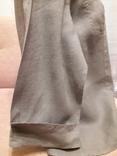 Женская рубаха с перламутровыми пуговицами из нат ракушки. Лён, фото №4